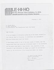 PA Rural Gay Caucus Letter - February 1, 1977