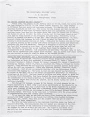 PA Rural Gay Caucus Report - March 1977