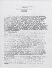 PA Rural Gay Caucus Report - October 1977