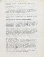 PA Rural Gay Caucus Minutes - May 1977