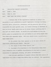 PA Rural Gay Caucus Memo - June 22, 1976