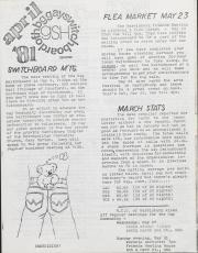 GSH Newsletter - April 1981