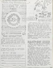 GSH Newsletter - October 1981