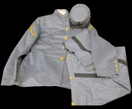 Dickinson College Cadet Corps uniform, c.1883