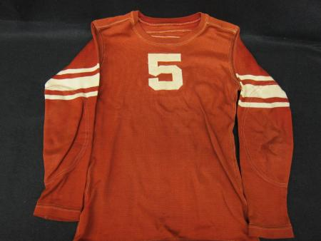 """Mascot Twelve"" Football Uniform (#5), 1936"