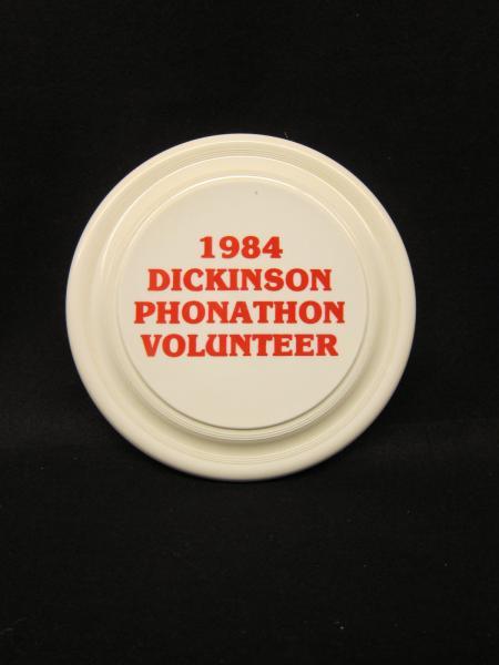 Dickinson College Phonathon Frisbee, 1984