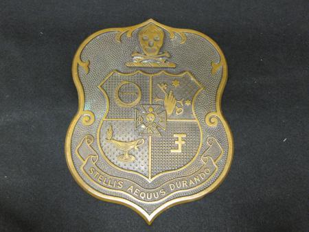 Phi Kappa Sigma Plaque