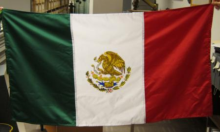 Mexican Flag, 1999