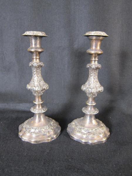 Silver Candlesticks (2 pairs)