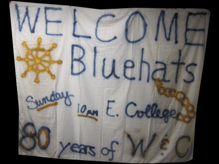Wheel and Chain 80th Anniversary Banner, c.2004