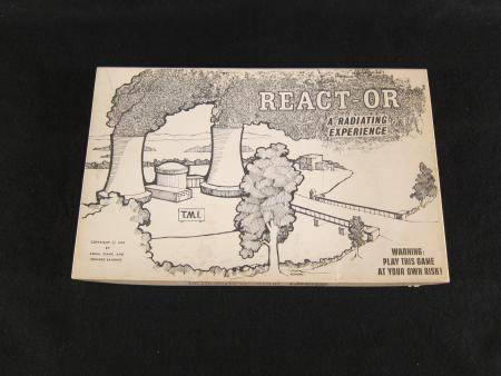 TMI React-or Board Game, 1979