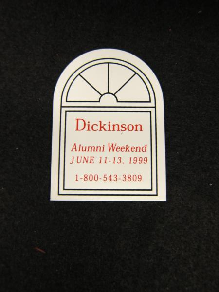 Alumni Weekend Magnet, 1999