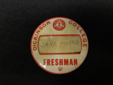 Freshman Pin, 1951