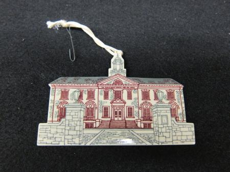 Weiss Christmas Ornament, c.2012
