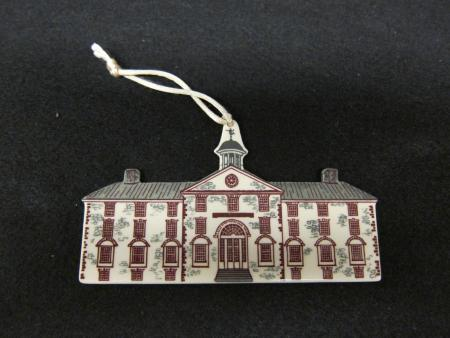 West College Christmas Ornament