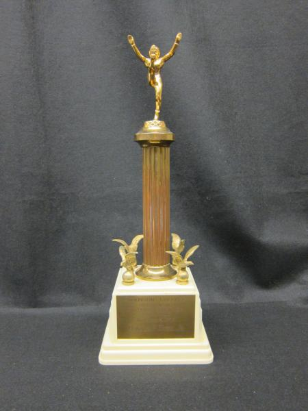 Homecoming Football Trophy, 1953