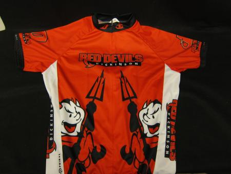 Red Devils Cycling Shirt Front