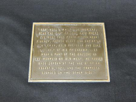 Pinkney Plaque (second edition)