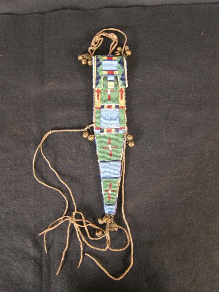 Beaded Sheath with Bells, c.1890
