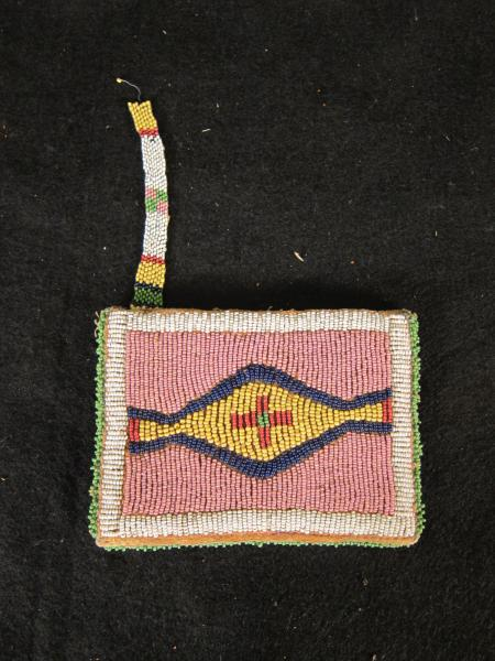 Small Beaded Pouch, c.1890