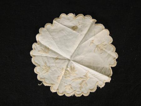 Embroidered Handkerchief, c.1880
