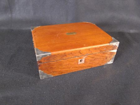 Portable Wooden Writing Desk, c.1885