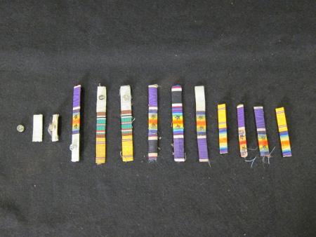 Military Ribbon Bars, c.1920