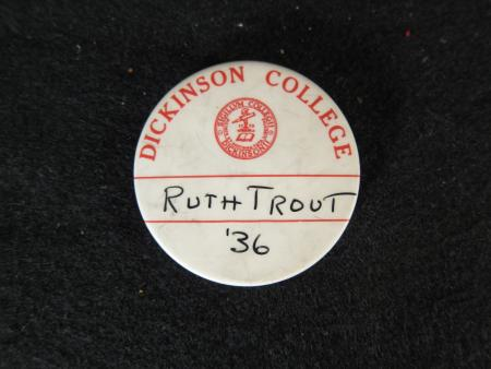 Dickinson College Name Tag Pin