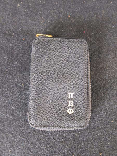 Pi Beta Phi Black Key Wallet