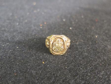 William Penn High School Class Ring, 1932