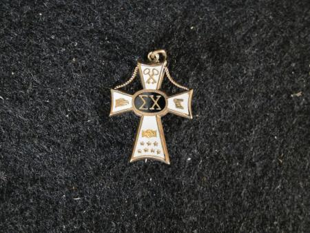 Sigma Chi Fraternity Pin, c.1858