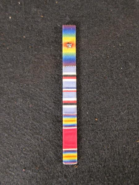 Ribbon to Accompany Medals