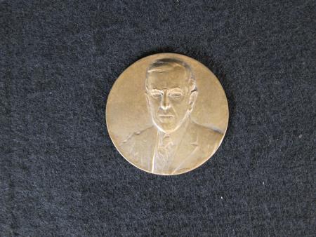 Woodrow Wilson Memorial Medallion, 1924