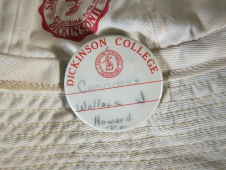 Wallace J. Cummings Name Tag Button