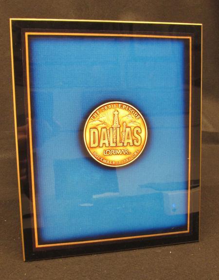 "Commemoration of the 200th Episode of ""Dallas"" Plaque, 1982"