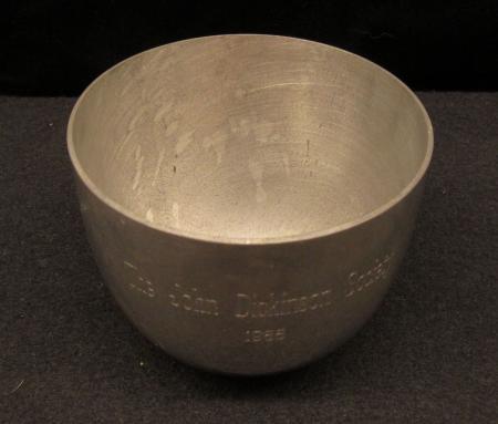 John Dickinson Society cup, 1988