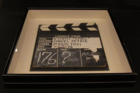 """Sybil"" Clapperboard, 1976"