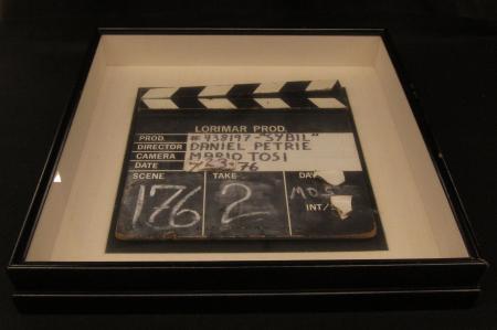"""Sybil"" Clapperboard, 1976"