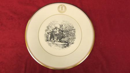 West College plate