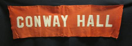Conway Hall banner, 1914