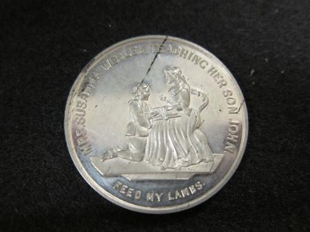 Methodist Church Wesley Medal, 1866