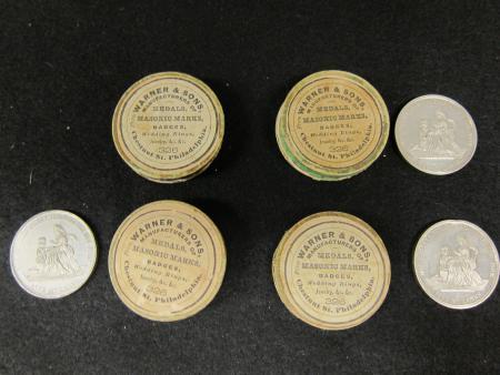 Methodist Church medallions