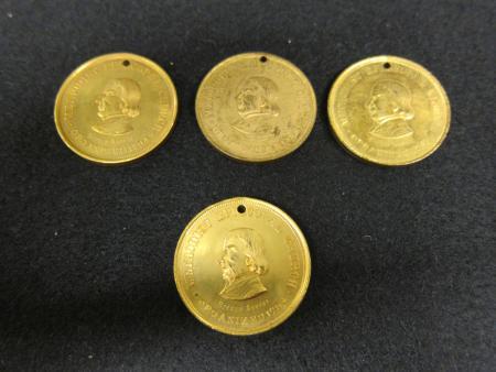Methodist Episcopal Church medals