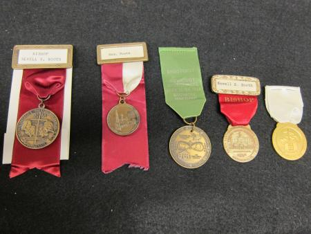 Methodist Church Pins and Medals, 1952-1972