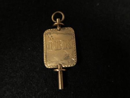Phi Beta Kappa key, 1905