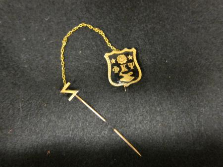 Phi Kappa Psi fraternity pin, 1864