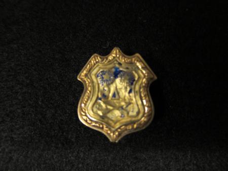 Theta Delta Chi fraternity pin, 1868
