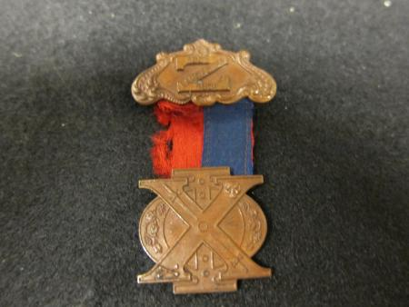 Chi Phi fraternity pin, 1904