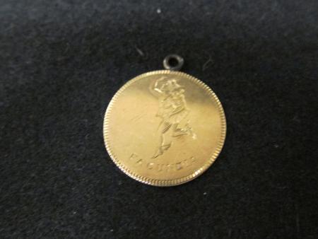 Belles Lettres Prize for Oratory medal, 1891