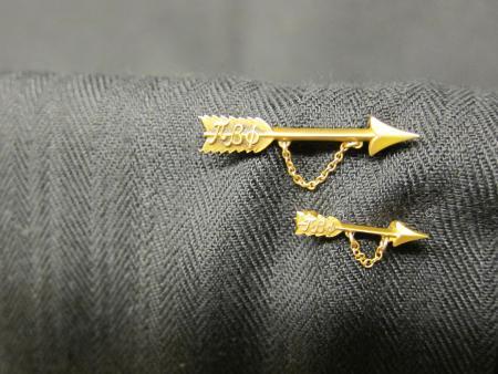 Pi Beta Phi sorority pins, c.1920